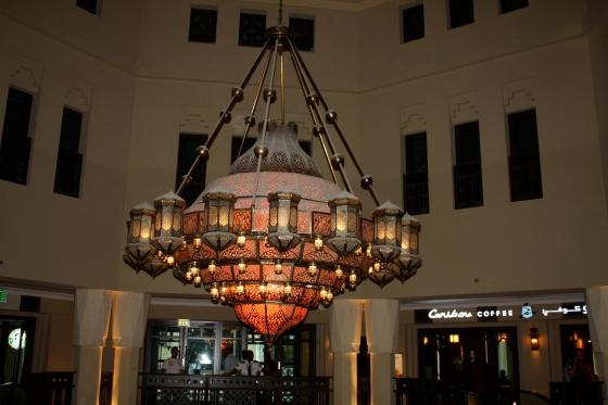 Souk al Bahar Light fixture