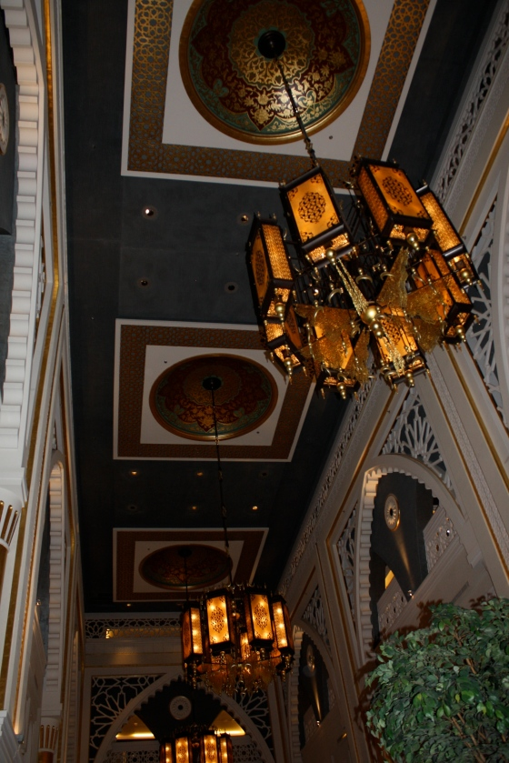 Zabeel Saray ceiling