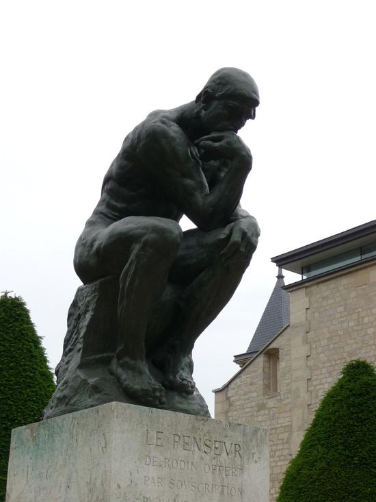 Rodin, The Thinker