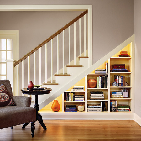 Staircase Shelving 2