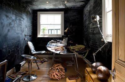 Chalboard paint Room
