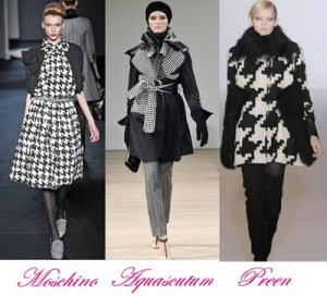 Houndstooth in Fashion